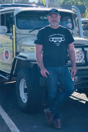 Brent Reeman, Founder, Long Drive For Drought